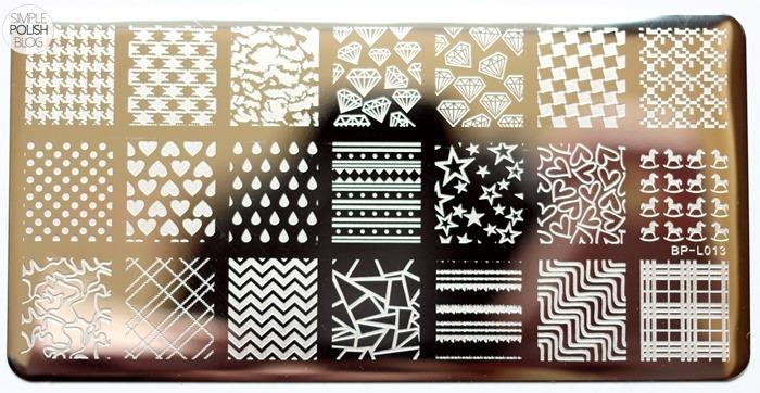 Born-Pretty-Store-Stamping-Plate-Chevrons-Dots-2
