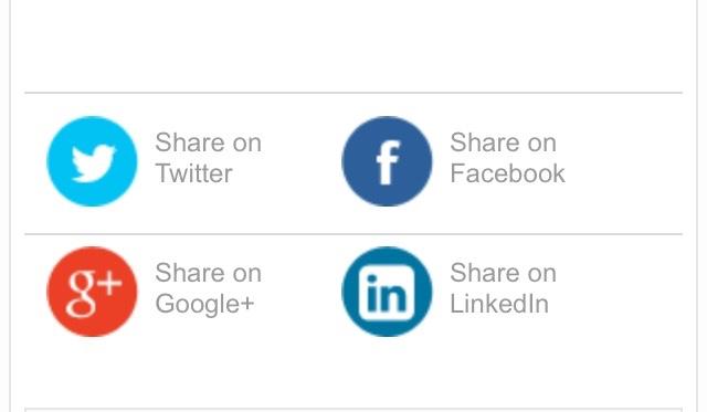 Blogger sosyal ağlarda paylaş butonu