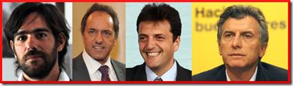 Elecciones 2015 - Candidatos