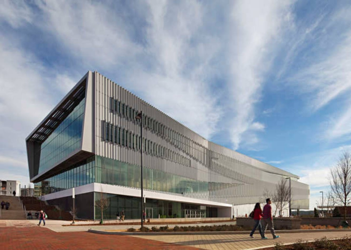 Raleigh, Carolina del Nord, Stati Uniti d'America: James B. Hunt Jr. Library by SnØHETTA