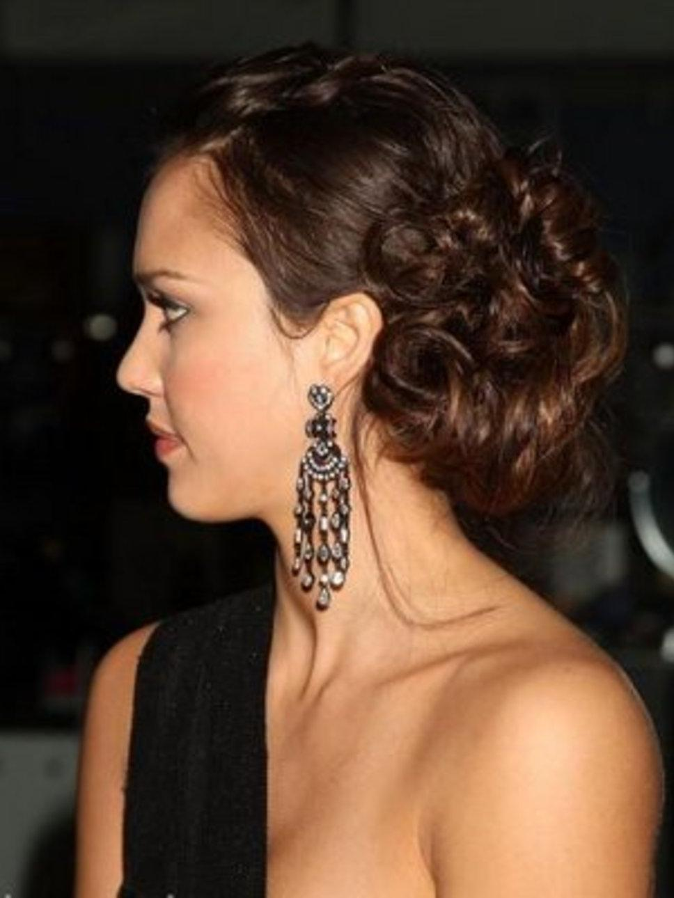 Curly Prom Hairstyles 2011