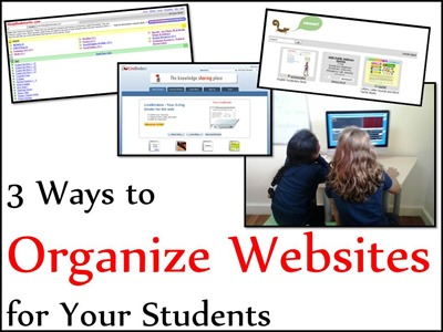 Organizing websites