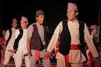 Dancing in the traditional dress of an indigenous nationality of Nepal. photo credit: Thomas van Beersum