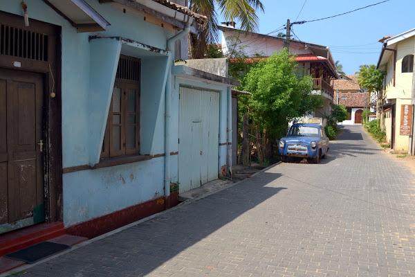 улица в форт галле