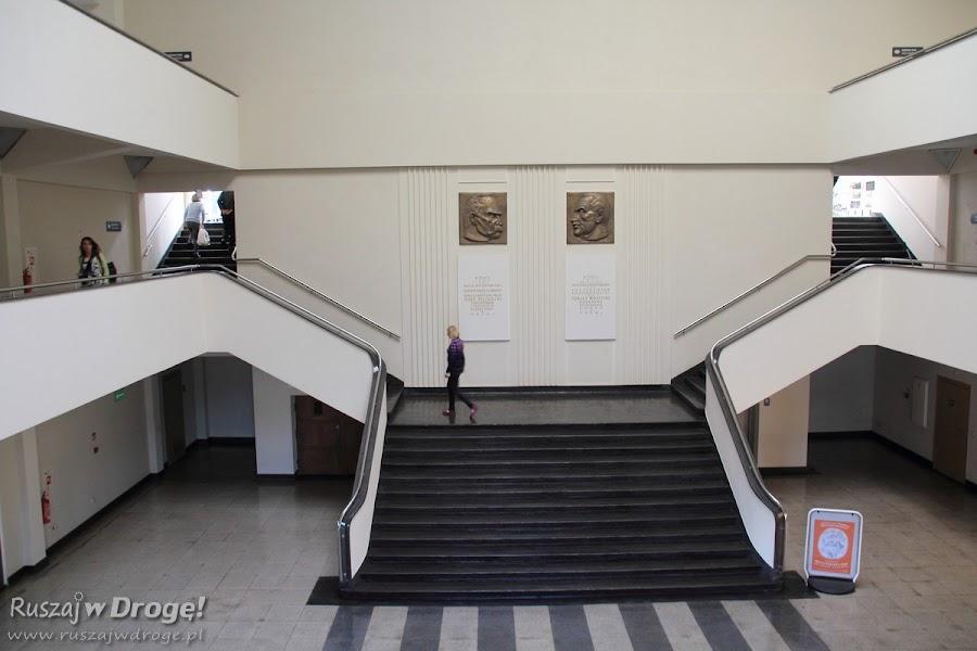 Wnętrza Dworca Morskiego w Gdyni - po renowacji