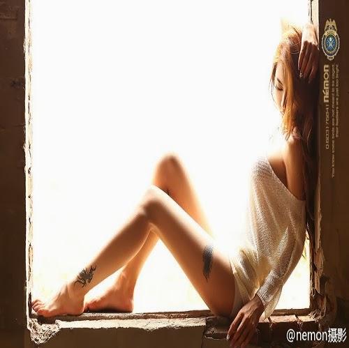 289cba6e69bb958716924f247c67e4ef Jin Mei Xin khoe hinh xam cuc dep day goi cam
