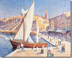 Maximilien_Luce_-_The_port_of_Saint-Tropez_(Le_Port_de_Saint-Tropez)_1893