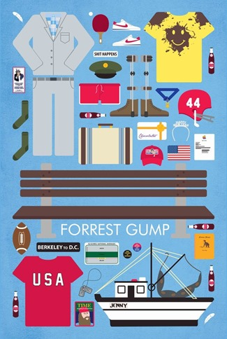 Movie Parts Series Forrest Gump by Emma Butler