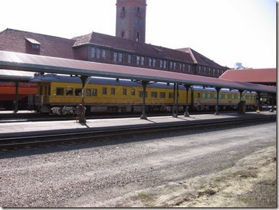 IMG_6106 Union Pacific Business Cars at Union Station in Portland, Oregon on May 9, 2009