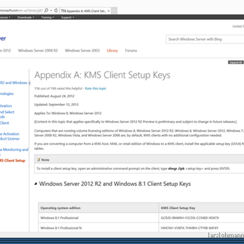 windows 2012 r2 key