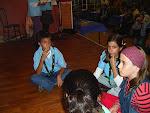 Actuación de la Manada de Lobatos Seeonee