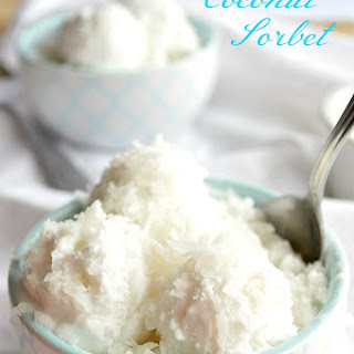 Coconut Water Sorbet Recipes