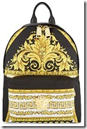 Versace Baroque print backpack