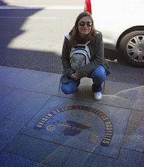 Kilómetro cero en la Puerta del Sol