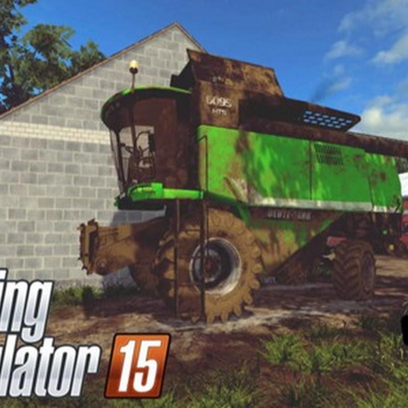 Farming simulator 2015 - Deutz Fahr 6095 HTS v 1.2