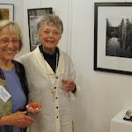 Member artists Joyce Volmut & Nancy Lawrence enjoy the evening festivities 1a.jpg