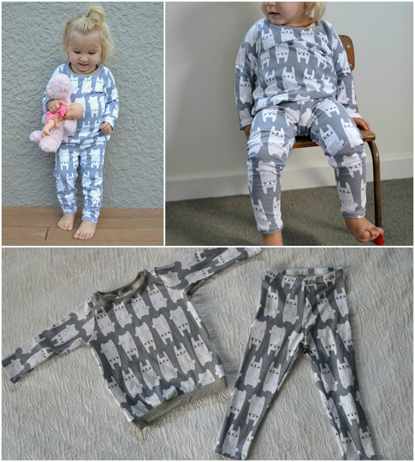 Bunny Jammies Collages