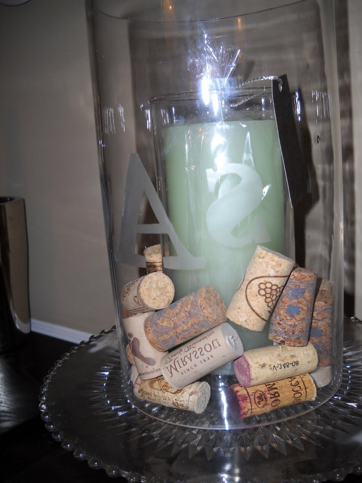 and some wine corks-