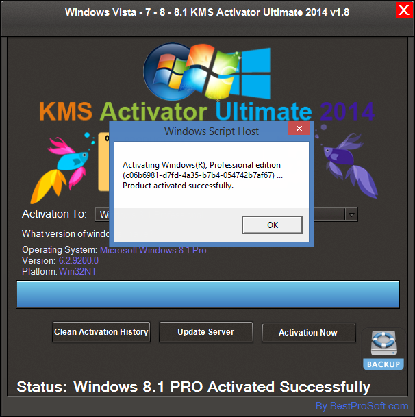 Windows KMS Activator Ultimate 2014 is the most Simple & user-Friendly activator
