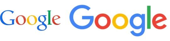 cambios en el logo de google