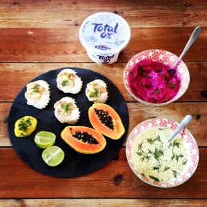Total Greek Yoghurt Dip Recipes