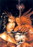 Lady Dragon Luis Royo