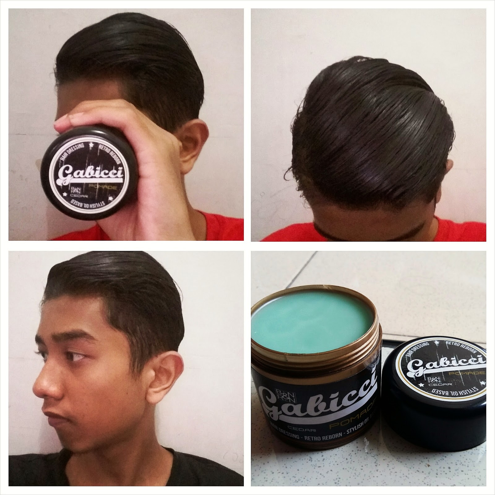 Reviewpomade REVIEW GABICCI POMADE BY Gabiccipomade