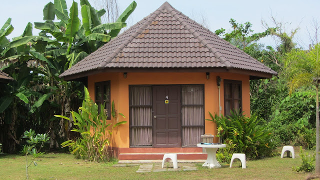 Our bungalow at Seaweed Hostel.