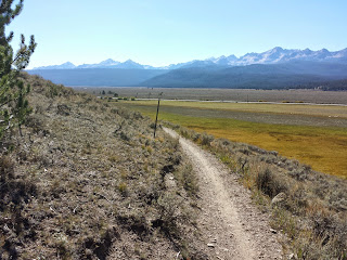 Wrapping up the Fish Creek loop.