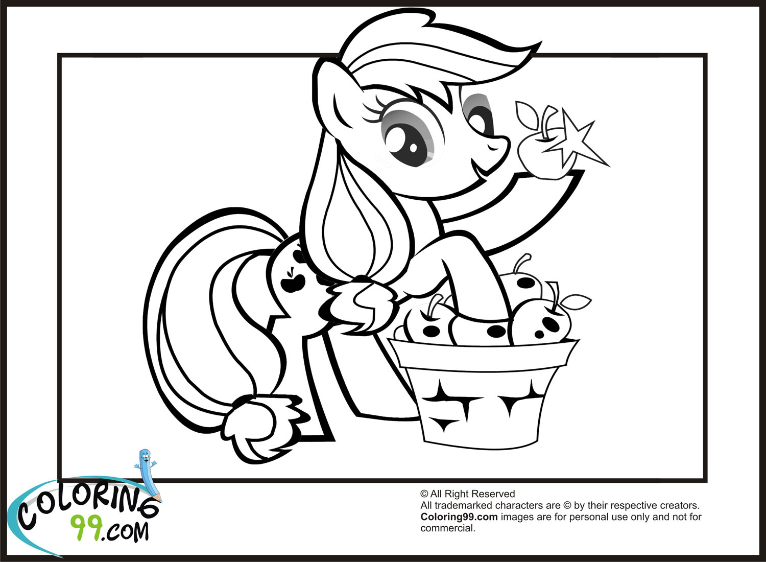 Rainbow Dash Coloring Page AZ Coloring Pages - my little pony applejack coloring pages
