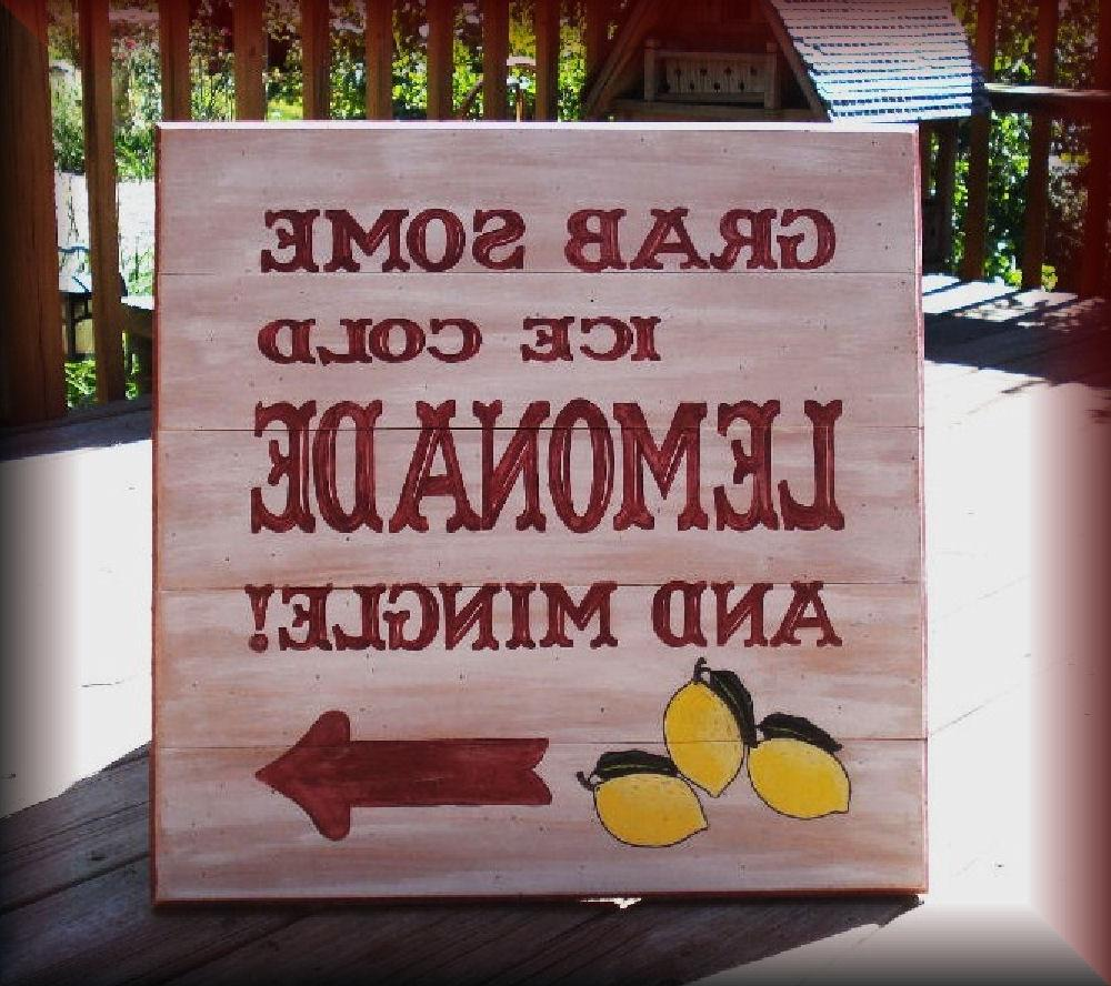 Wood Sign Grab Some Ice Cold