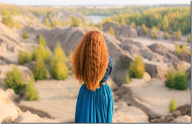Романцевские горы фото на фоне карьера