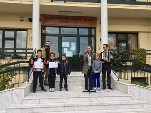 Οι μικροί μαθητές μας κερδίζουν το χειροκρότημα των συμμαθητών τους για τις επιτυχίες τους στον Πανελλήνιο Διαγωνισμό Πιάνου.