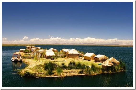 Floating-Island-on-Lake-Titicaca