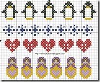 punto-de-cruz-pingüinos-y-Matrioske