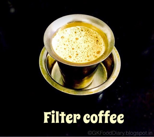 Indian Filter Coffee Recipe