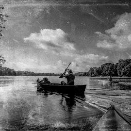 One Fine Day by Karl Bodtorf - Black & White Landscapes