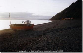 Branscombe boat