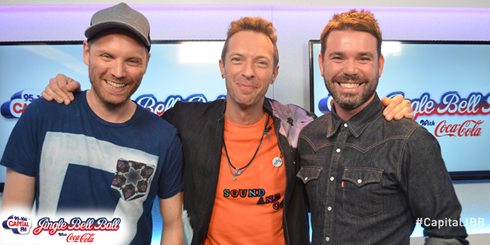 Jingle Bell Ball Coldplay