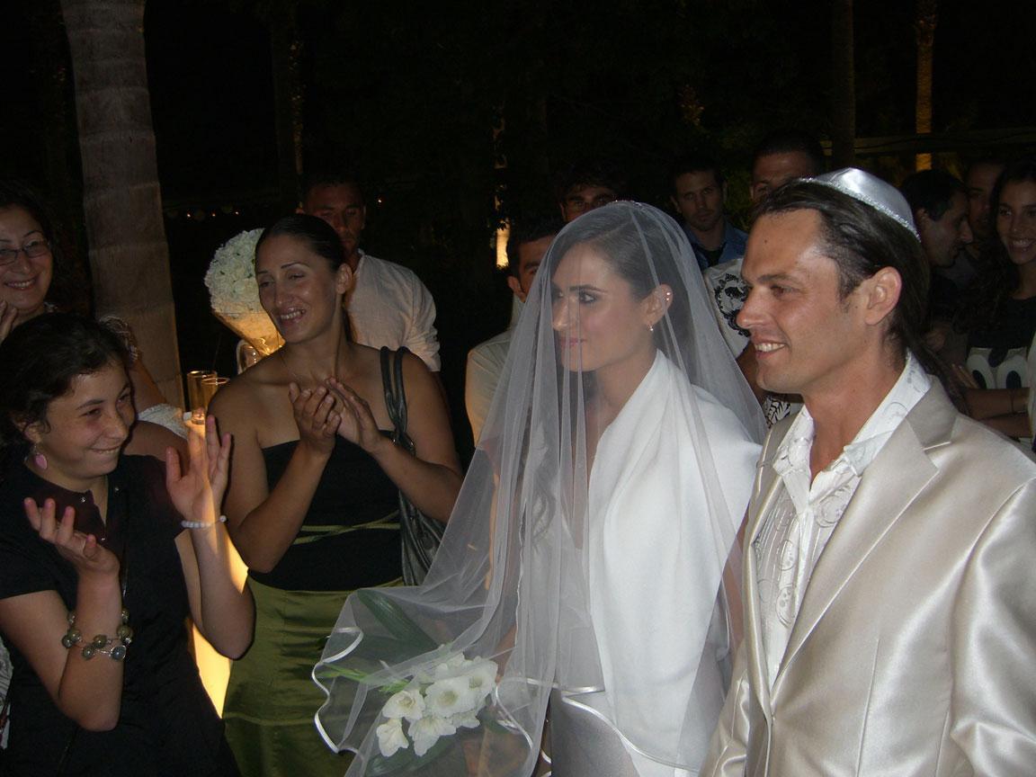 A Jewish wedding in Israel