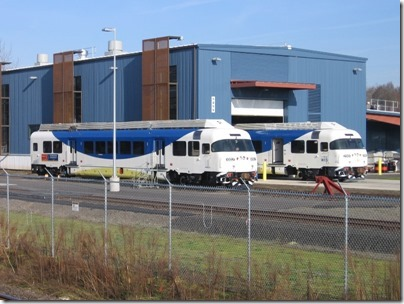 IMG_5023 TriMet Westside Express Service DMU #1002 & Trailer #2001 in Wilsonville, Oregon on January 14, 2009