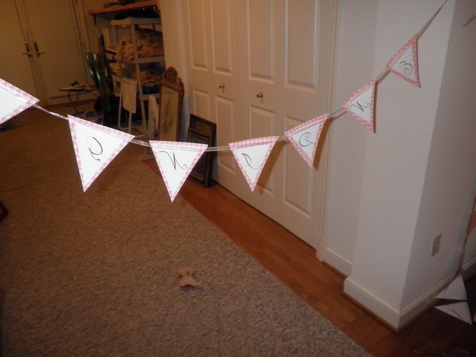 wedding banners diy