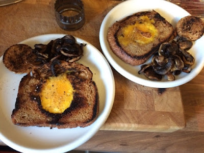 Mock Fried Egg Rationing
