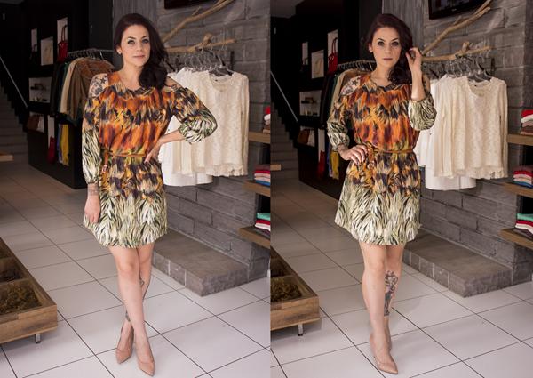 Look vestido curto estampado (4)
