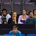 Mona Barthel & Kader Nouni watch Annika Beck