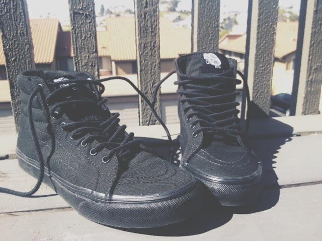 Vans Sk8 Hi Slims Black