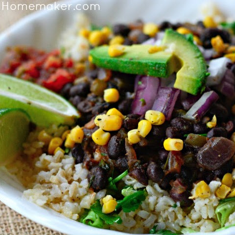 Miso Kale & Black Bean Burritos Recept | Yummly