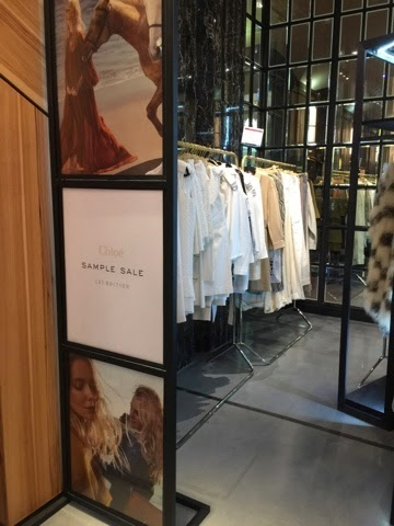 Navigating a Chaotic Sea that is the Chloe Sample Sale ...