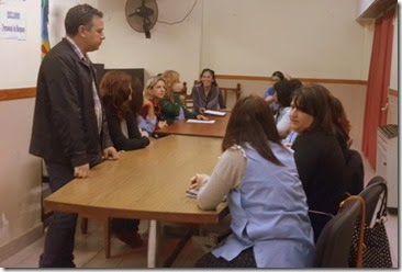 Directivos de Educación y representantes de la cartera sanitaria comunal mantuvieron una reunión donde delinearon las tareas conjuntan en materia preventiva