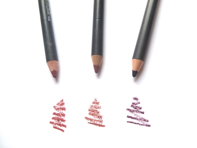 top 3 MAC lip liners, soar, whirl, vino